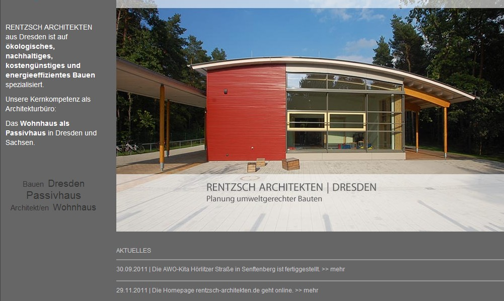 RENTZSCH ARCHITEKTEN | DRESDEN online