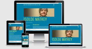Isolde Matkey in Aktion
